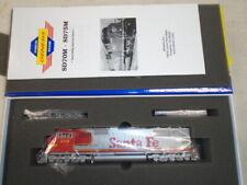 Ho Scale Diesel Locomotive, Sd75m, Santa Fe, Athearn Genesis, G6137, Number 1