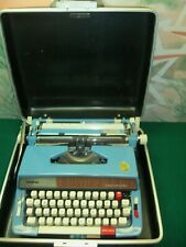 Vintage Brother Opus 901 Automatic Repeat Spacer Typewriter with carrying case