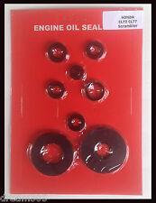 Honda CL77 Oil Seal Kit Scrambler  CL72 Complete 1965 1966 1967 250 305 Engine
