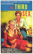 THE THIRD SEX Movie POSTER 11x17 Retro Book Cover