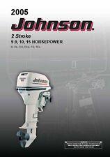 Johnson Outboard Owners Manual 2005 2-Stroke / 9.9, 10, & 15 HP / Model RH, RHL