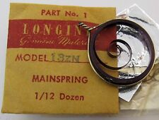 Longines 13ZN part original mainspring #770