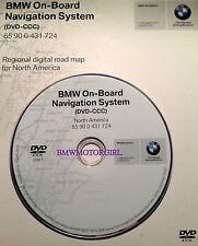 BMW On-Board Navigation System 2007 (DVD-CCC) DVD 65 90 0 431 724