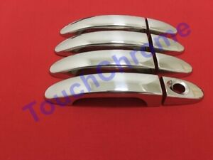 Ford Mondeo MK4/Galaxy Mk2/S-Max Chrome Door Handle Cover 4Door S.Steel