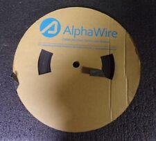 """Alpha Wire FIT321V 3/4"""", Black, 250 ft (M)"""