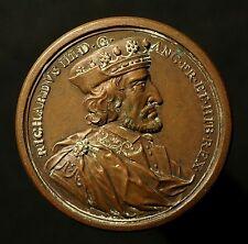 Bronzesuitenmedaille v. Jean Dassier o.J. (1731), Richard III. von England
