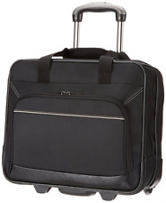 Rolling Laptop Case 17In Inch Computer Business Bag Wheeled Travel Carry On New