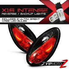[CREE Reverse Bulbs] 01-05 Chrysler PT Cruiser Black Clear Tail Light Brake Lamp