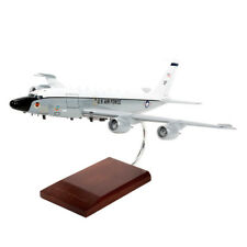 USAF Boeing RC-135V/W Rivet Joint New Engines Desk Top 1/100 Model MC Airplane