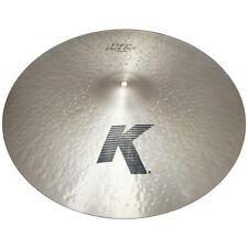 "Zildjian K0967 22"" K Custom Dark Ride Drumset Bronze Cymbal Low Profile - Used"