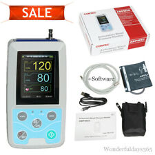 ABPM50 Arm 24h NIBP Ambulatory Blood Pressure Monitor+PC Software,adult Cuff