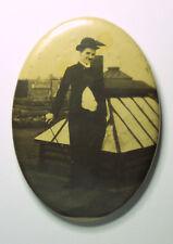 CHARLIE CHAPLIN Silent Movie Tramp Impersonator Vintage 1920's POCKET MIRROR