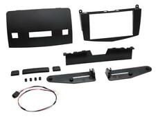 For Mercedes C Class S204 Car Radio Panel Installation Frame Double Din