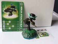 Skylanders SWAP FORCE NINJA STEALTH ELF loose NEW figure,card,code