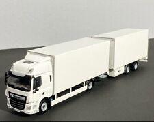 DAF CF SC box riged truck+box centre axled drawbar,WSI truck models
