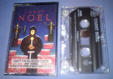 BENEDICTINE MONKS CHANT NOEL cassette tape album T5607