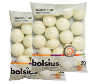 Bolsius Ivory Floating Candles - Pack of 40