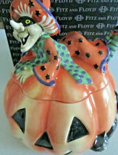 Fitz and Floyd Collectible Witch Hazel Halloween Cookie Jar
