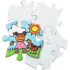 Roylco Blank Cardboard Puzzle Pieces (r52022)