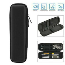 Hard Shell Fountain Pen Pencil Case Black Holder Pouch Stationery Zipper Bag Box