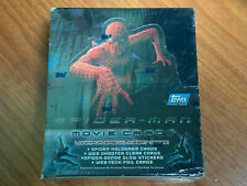 2002 Topps Spider-Man Movie Cards SEALED Box