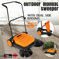 Outdoor Push Sweeper Ideal For Sweeping Pavement Roads Driveways And Garages