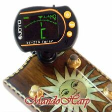 Joyo JT-22B Clip-On Backlit LCD Chromatic Tuner NEW