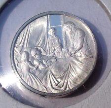 Franklin Mint Sterling Silver Mini-Ingot: 1799 George Washington At Mount Vernon