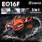 For Eachine E016F 3 in 1 EPP Flying Air Boat Land Driving Mode Detac