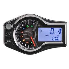 Acewell 6654 Black Digital Speedometer Speedo Analogue Tacho Chopper Harley
