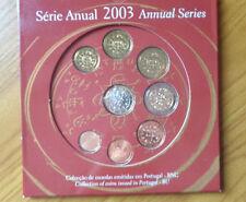 PORTOGALLO SERIE UFFICIALE COMPLETA MONETE EURO 2003 NUMISMATICA SUBALPINA