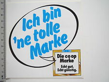 Aufkleber Sticker co op - Discounter - Tolle Marke (M1752)