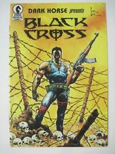 DARK HORSE PRESENTS #1 BLACK CROSS 1ST APPEARANCE OF CONCRETE 1986 PAUL CHADWICK