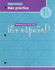 En Espanol! Mas Practica Level 1B (1999, Paperback) New!