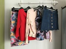 Ladies Clothes Bundle Size 14 - Skirts - Tops  - Great Brands  - 5 Items