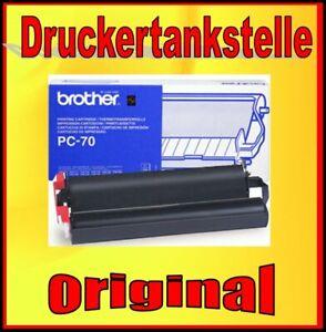 Original Brother PC-70 Cartridge Fax T72 T74 T76 T78 T82 T84 T86 T92 T94 T96 T98
