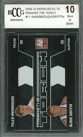 2009-10 donruss elite passing the torch #11 BLAKE GRIFFIN rookie BGS BCCG 10