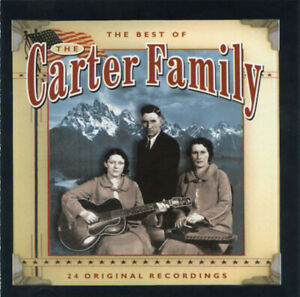 """The Carter Family """"Best Of: 24 Greatest Original Recordings"""" NEW & SEALED CD"""