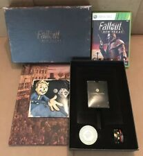 Fallout New Vegas Collector's Edition Xbox 360 w/ Cards, Chips, All Roads Novel