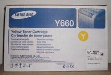 Original Samsung CLP-Y660B yellow für CLP 610 660 CLX 6200 6210 6240 Karton C
