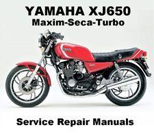 YAMAHA XJ650 Owners Workshop Service Repair Manual PDF CD-R SECA TURBO MAXIM 650