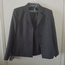 Ladies Petite Size Gray Business Suit Size 12