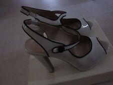 LC Lauren Conrad Winnie Cream Peep-Toe Platform High Heels Sz 9.5 -  NWB $69.99