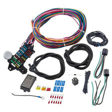 Universal 12-14 Circuit Wiring Harness 14 Fuse GXL Wire for Wiper Battery