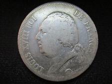 FRANCIA FRANCE LUIS XVIII - 5 FRANCOS 5 FRANCS 1824 D - LYON