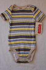 NEW Baby Boys Bodysuit 0 - 3 Months Stripe Creeper Outfit 1 Piece Fisher Price