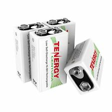 Tenergy 9V NIMH Rechargeable,200mAh Low Self-Discharge Battery (4 PCS)