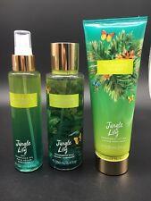 Victoria's Secret Jungle Lily Fragrance Dry Oil Body Lotion Mist Spray Lot