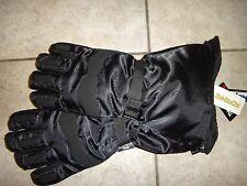 ATTABOY WATERPROOF Men's Black Nylon Long Winter Gloves Insulation 40 gr Sz L-XL