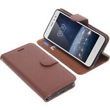 Custodia Per Tp-Link Neffos X1 Lite Book-Style Protettiva Cellulare Libro Braun